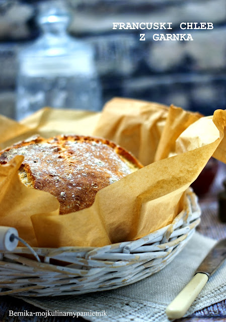 Francuski chleb z garnka