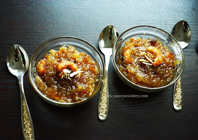 Bread Halwa / How to make bread halwa with sugar syrup