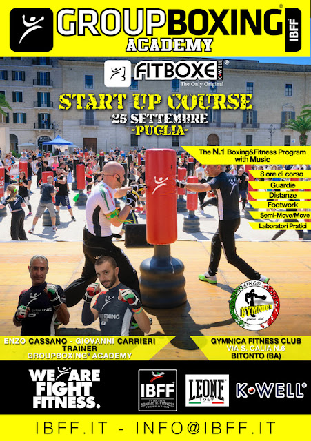 GB® FitBoxe® Start Up-Puglia, 25 Settembre 2016 a Bitonto, Bari