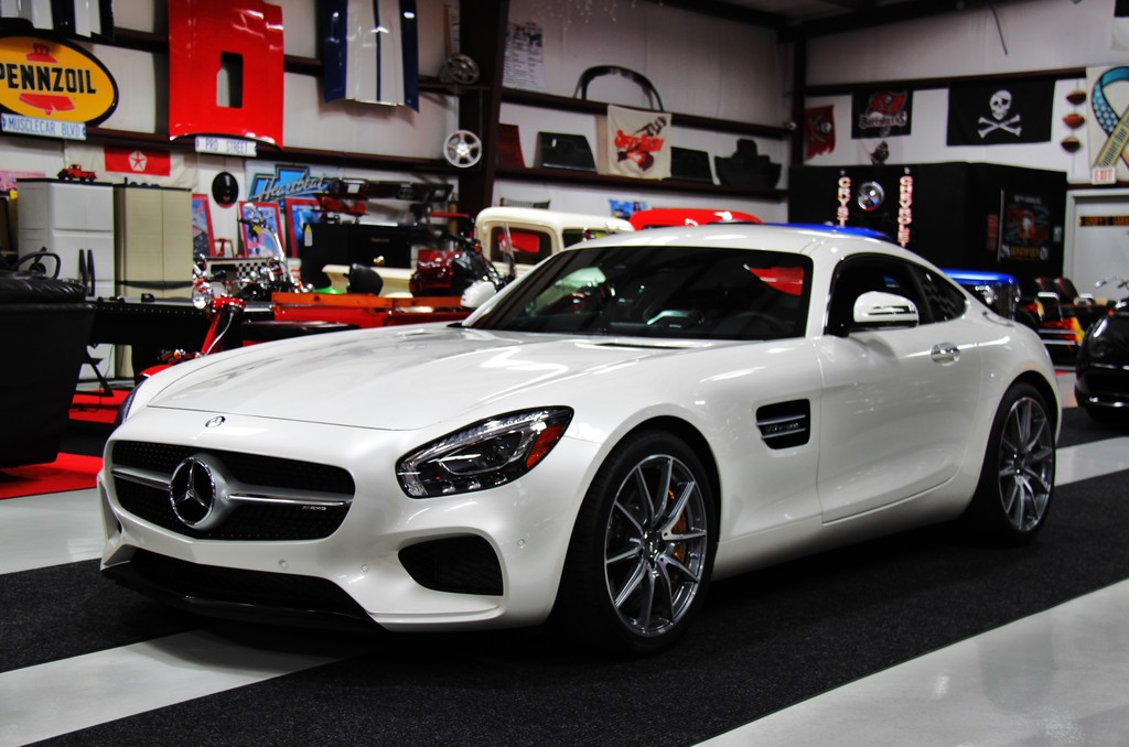 2017 Mercedes-AMG GT S Diamond White | BENZTUNING