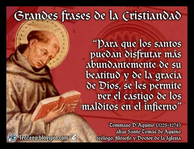 Teófago Santo Tomas De Aquino