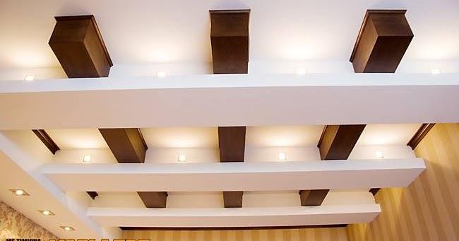 Moderne plafond en pl tre pour une chambre a coucher ms for Plafond en platre chambre a coucher