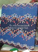 Kasur inoac motif bunga biru inoactasik