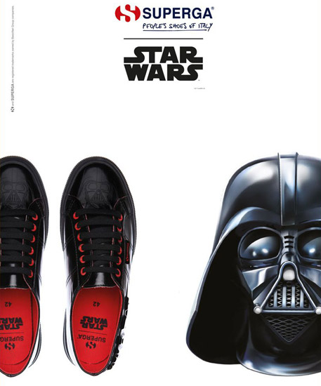 zapatillas Darth Vader Superga Star Wars