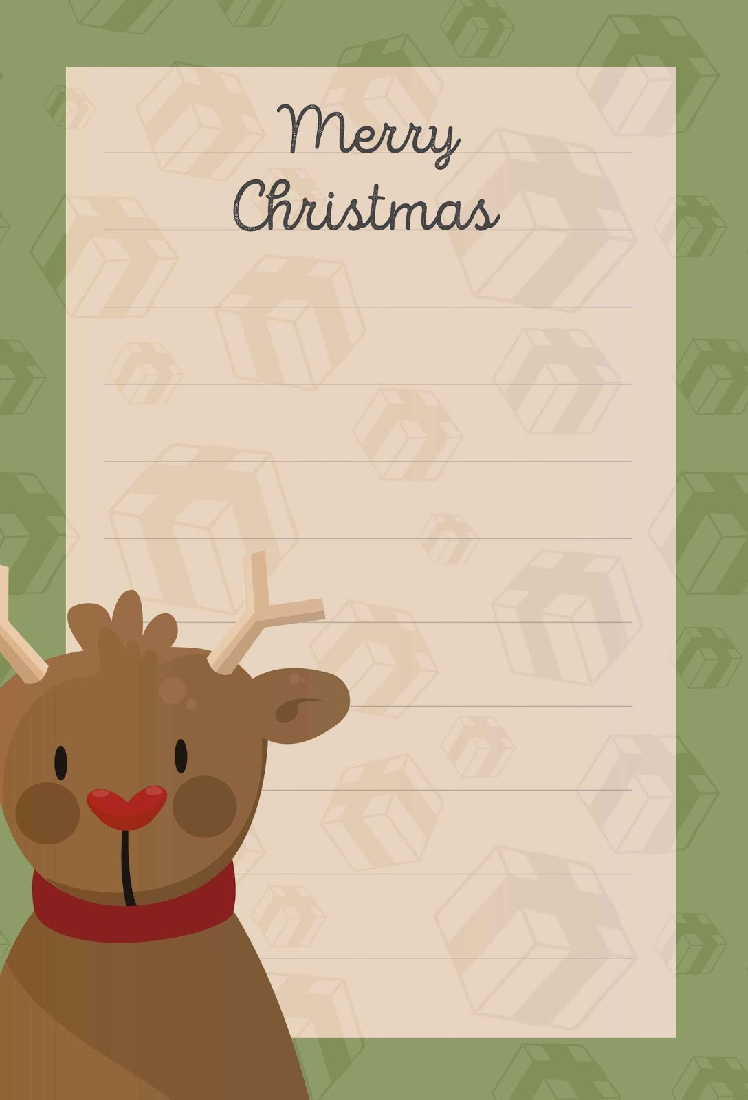 Free Christmas Photo Card Templates Download
