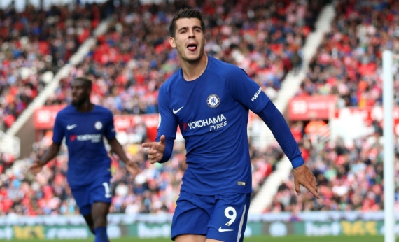 Alvaro Morata netted his first hat-trick in Chelsea colours last weekend as they beat Stoke City 4-0.