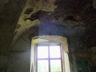 Замок Сент-Миклош. Сводчатые потолки
