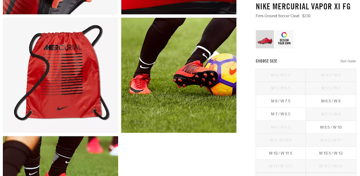 8909bcc2712 Are Men s and Women s Football Boots Identical  - Footy Headlines