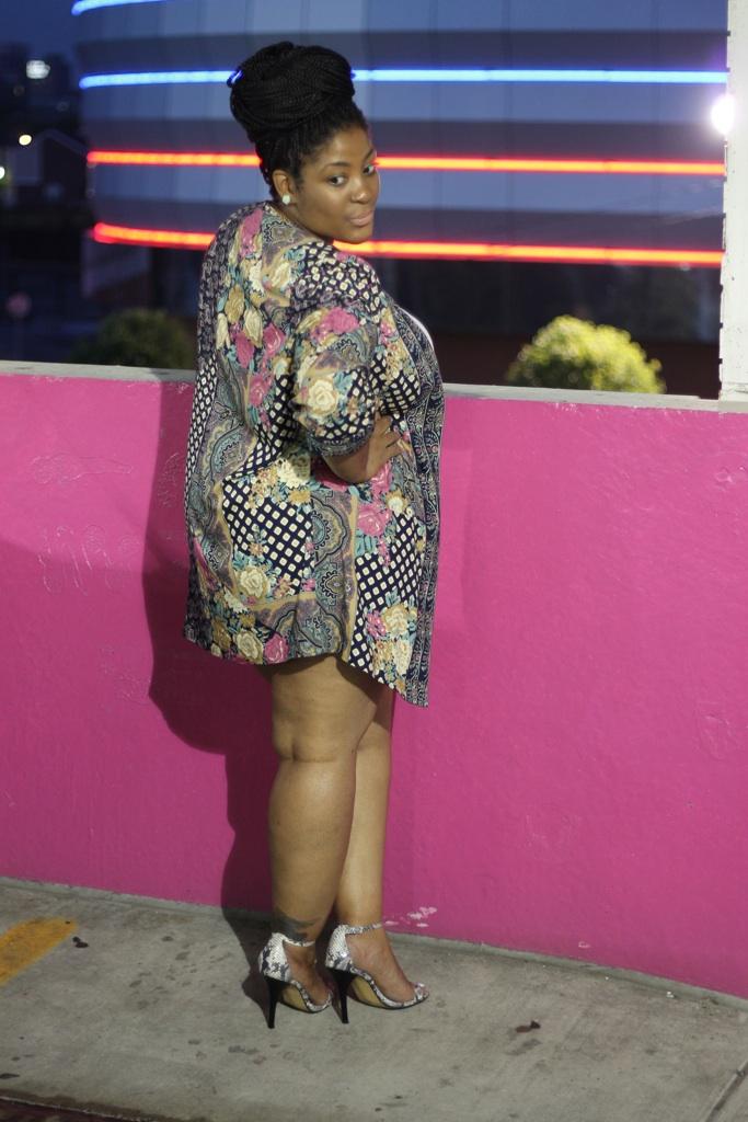 Black bbw in heels