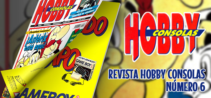 Revista Hobby Consolas Número 6 1992