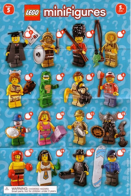 The Minifigure Collector Lego Minifiguers Series 5 Rarity