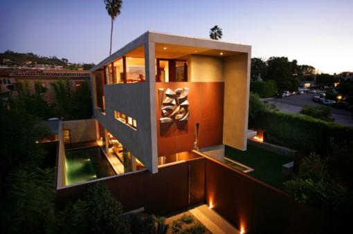 unique home designs Modern Desert Homes