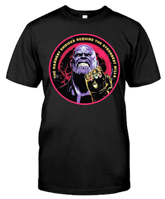 Marvel Thanos Infinity Gauntlet T Shirt Shirts