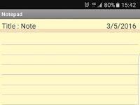New Notepad Full Free v2.4 APK Update