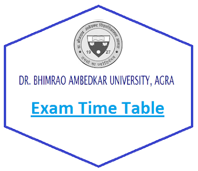 Agra University Exam Schedule 2020