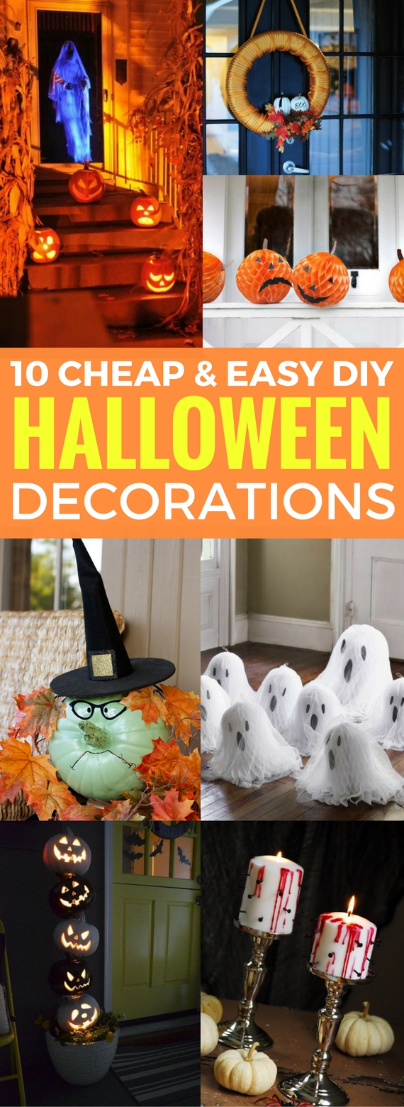 10 cheap and easy diy halloween decorations craftsonfire. Black Bedroom Furniture Sets. Home Design Ideas