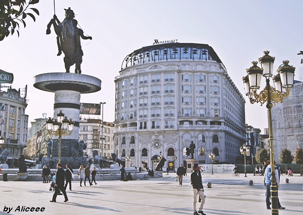 Macedonia-Square-Skopje