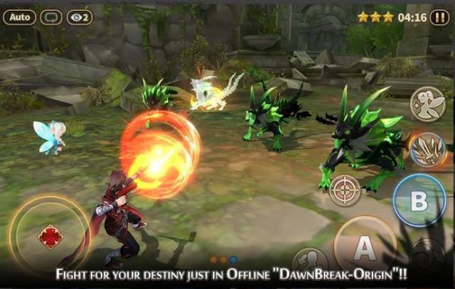 Game RPG Offline Android 2018 Dawn Break: Origin APK