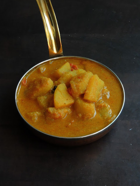 British-Indian style Potato Curry
