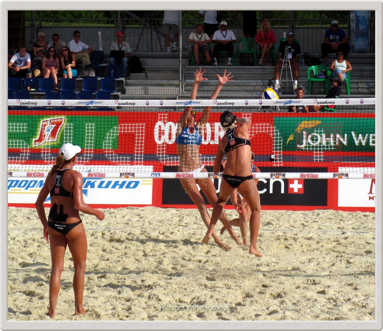 Brittany Hochevar & Lisa Rutledge vs Ekaterina Birlova (Khomyakova) & Evgenia Ukolova