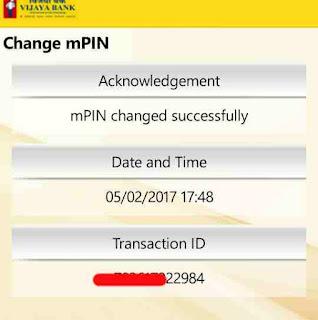 Mobile banking mpin or login password change kaise kare 4