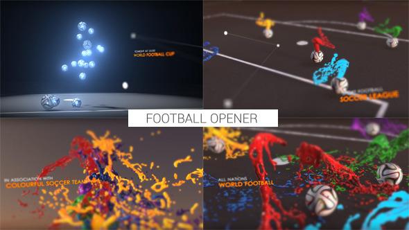 قالب افتر افكت مجاني - برومو رياضي لعرض كرة القدم مع تأثيرات رائعة للافتر افكت CS5 فأعلى