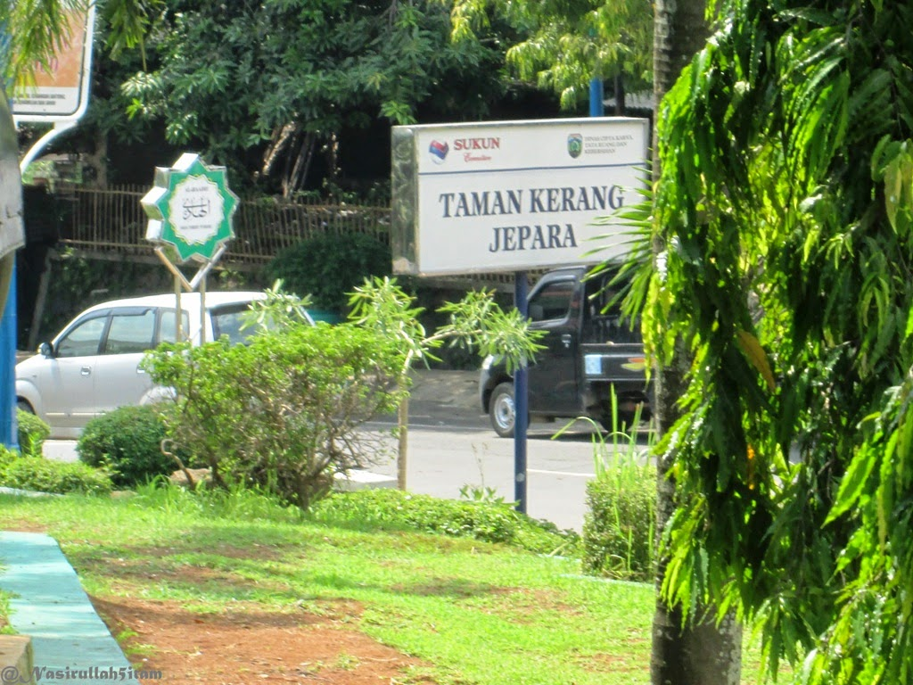 Singgah di Taman Kerang, Jepara