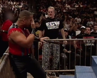 WWF / WWE IN YOUR HOUSE 10: Mind Games - ECW's Sandman and Tommy Dreamer got involved in the opening Savio/JBL match