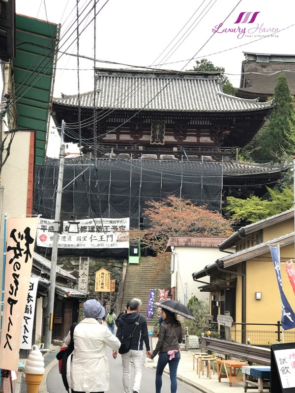 japan famous attractions yoshino kinpusenji temple