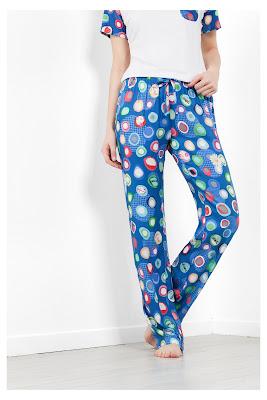 Manolos Desigual. Pantalón de pijama