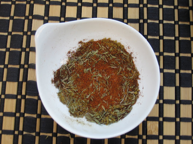 bowl of cajun seasoning