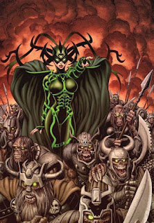 Hela, Goddes of Death, Avengers, Avenegrs End Game, Avengers 4