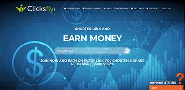 ClicksFly is the Highest Paying URL Shortener