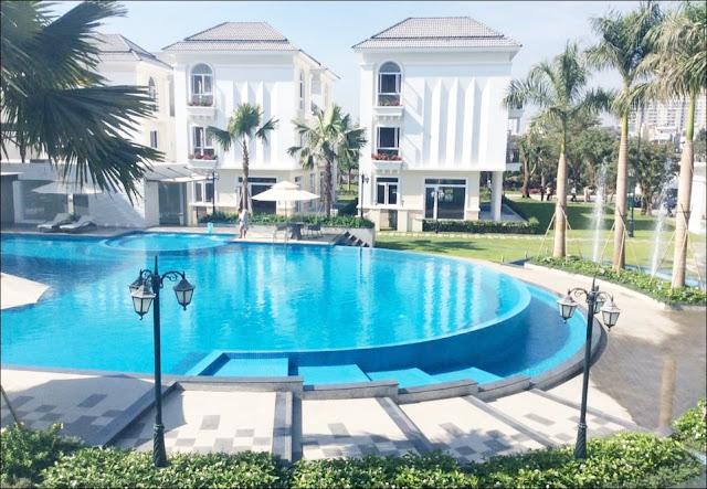 Hồ bơi biệt thự The Venica Khang Điền Quận 9