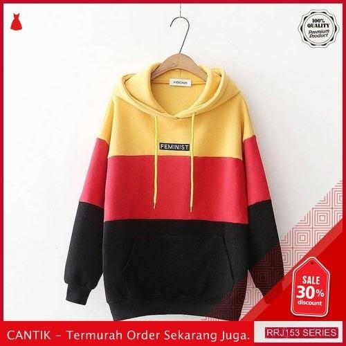 Jual RRJ153O100 Outerwear Feminist Sweater Wanita Mo Terbaru Trendy BMGShop