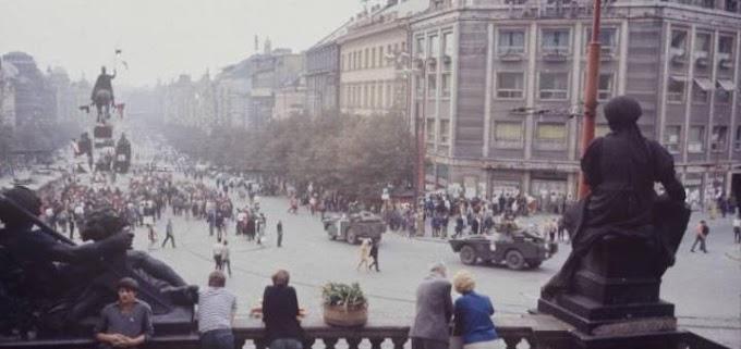 Относительно Чехословакии и событий 1968 года там происходивших