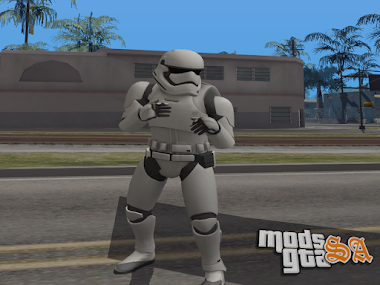 Skin Stormtrooper do Star Wars Episódio 7
