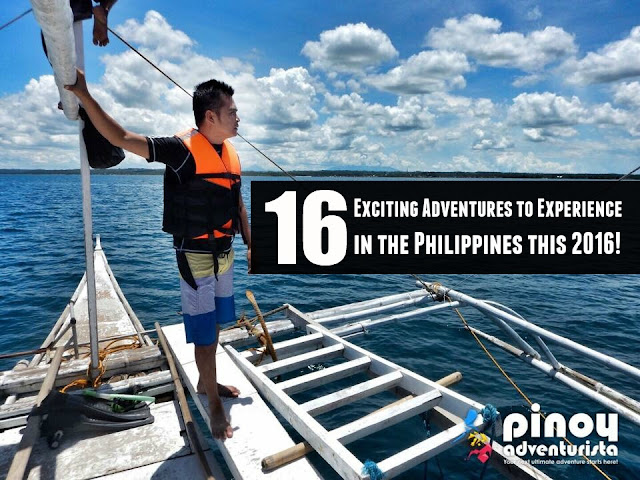16 Exciting Adventures to Experience in the Philippines this 2016