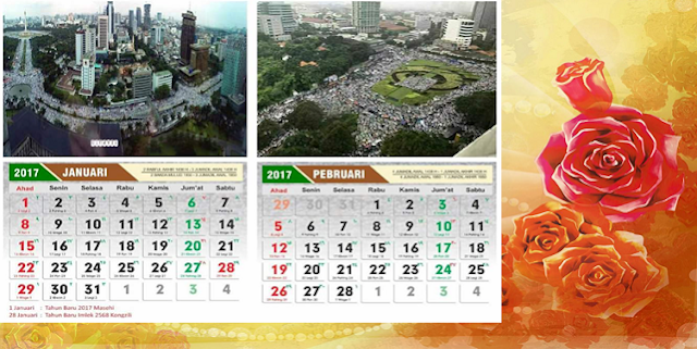 Kalender 212 Aksi Super Damai