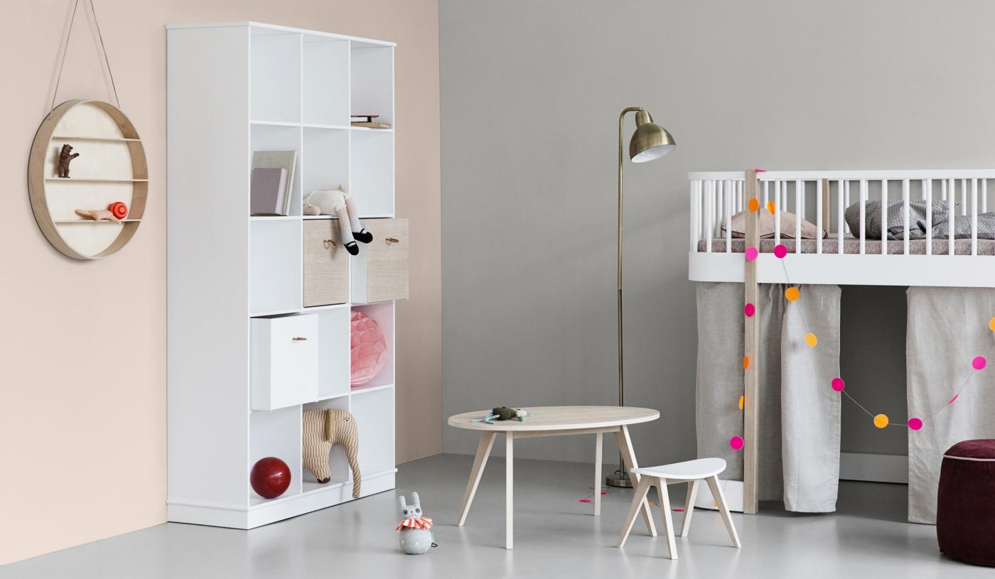 Skandynawskie meble dziecięce Oliver Furniture.