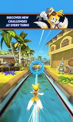 Sonic Dash 2: Sonic Boom MOD APK+DATA