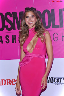 Kara Dell Toro In Stunning Pink Gown at Cosmopolitan Fashion Night in Mexico .xyz Exclusive Pics 007
