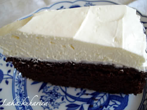 beer cake with froth
