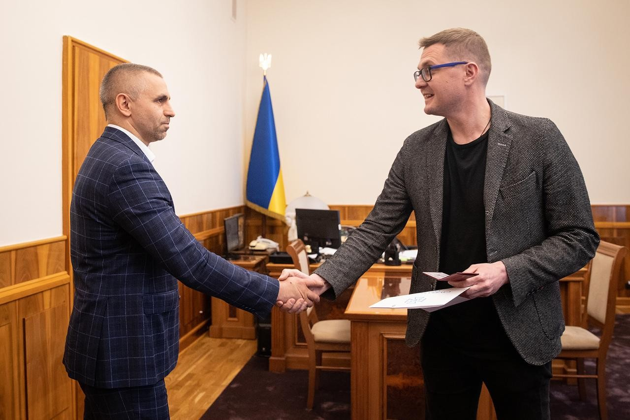 Баканов представив нового керівника Альфи
