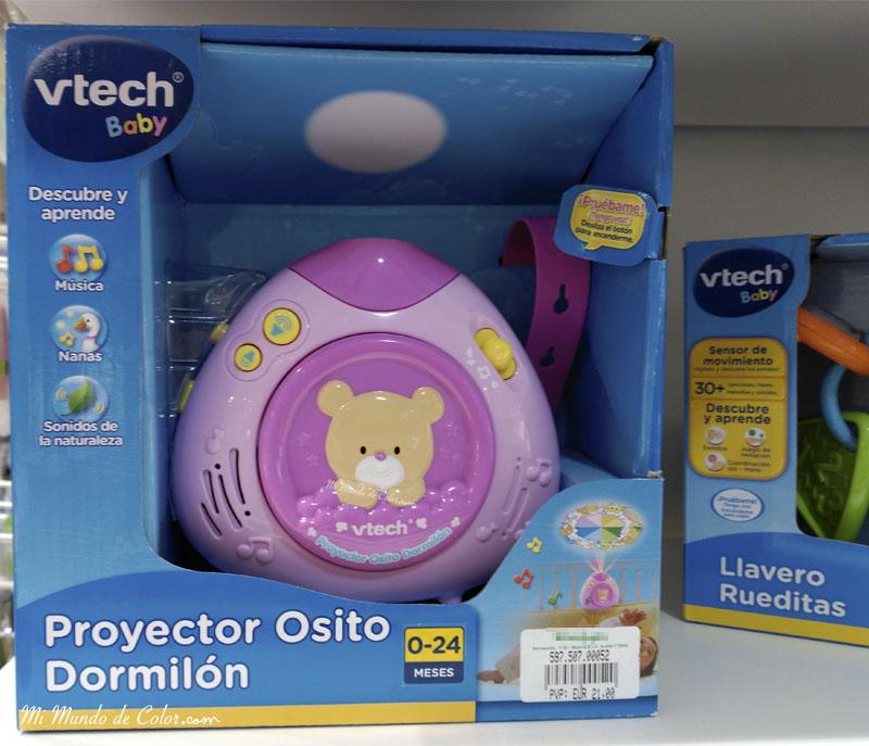proyector musical para las cunas de los bebes