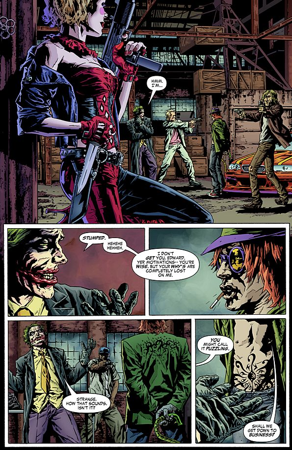 Joker De Brian Azzarello Espanol  ic on clic harleys