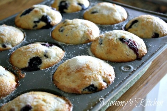 Easy Peasy Blueberry Muffins