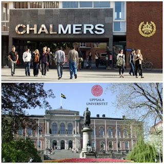 daftar universitas rekomendasi di swedia chalmers uppsala university