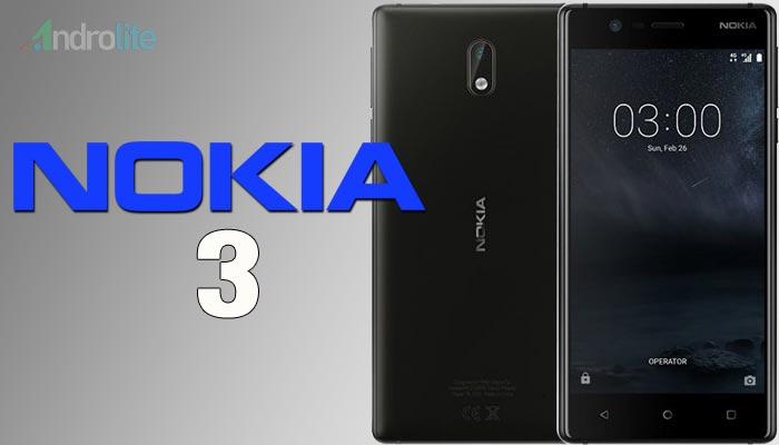 Nokia kembali resmi merilis smartphone Android terbaru di Indonesia yaitu Smartphone And Harga Nokia 3 Terbaru 2018 - RAM 2GB, Storage 16GB, Layar 5 inci