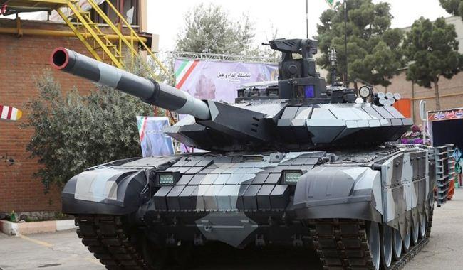 Tank Karrar Iran